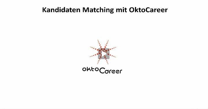 2. Produktvideo OktoCareer - Lösung für die Personalberatung / Personalvermittlung