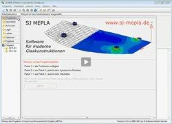 1. Produktvideo - SJ MEPLA - Software für moderne Glaskonstruktionen