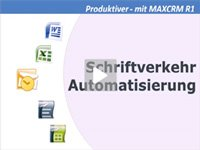 Produktvideo MAXCRM - CRM-Software