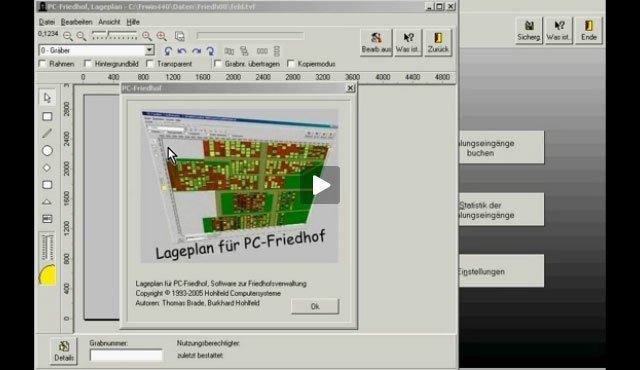 1. Produktvideo  PC-FRIEDHOF Software zur Friedhofsverwaltung