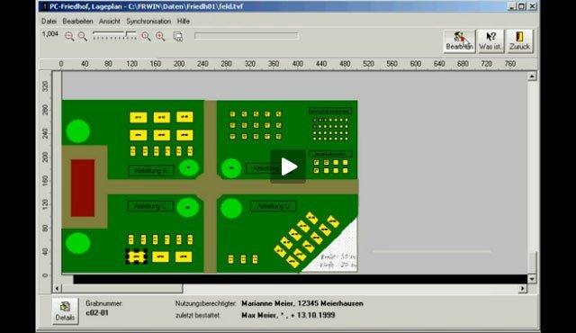 4. Produktvideo  PC-FRIEDHOF Software zur Friedhofsverwaltung