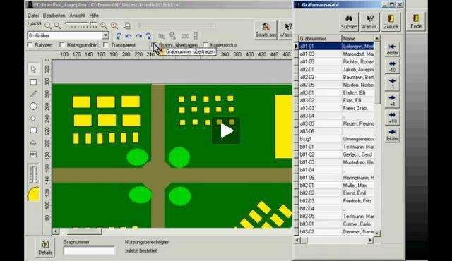 5. Produktvideo  PC-FRIEDHOF Software zur Friedhofsverwaltung