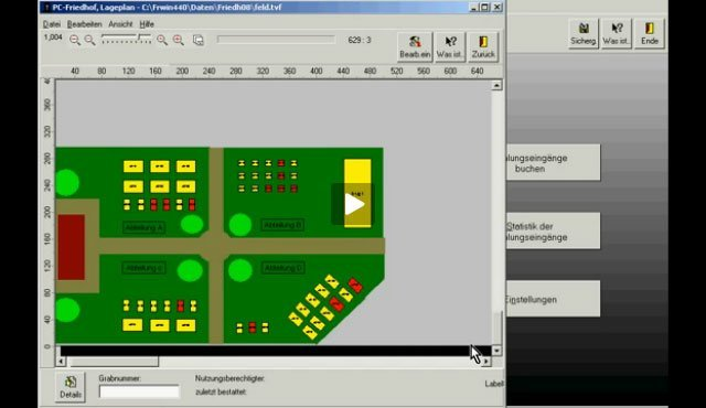 6. Produktvideo  PC-FRIEDHOF Software zur Friedhofsverwaltung