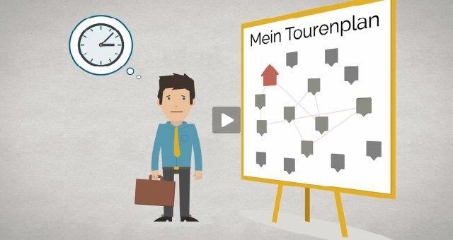 1. Produktvideo portatour® - Automatische Tourenplanung und Routenoptimierung