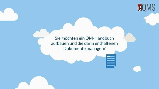 1. Produktvideo eQMS - Software für Qualitätsmanagement, ab 40 EUR/mtl.