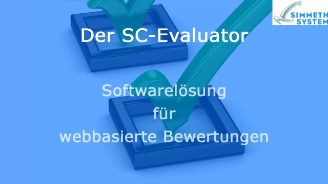 1. Produktvideo SC-Evaluator - Softwarelösung für die Lieferantenbewertung