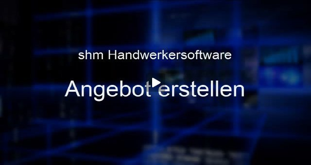 1. Produktvideo shm profit Handwerk