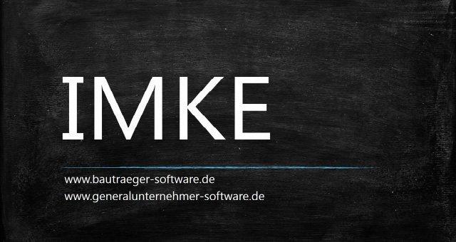 1. Produktvideo IMKE - die Bauträger-Software