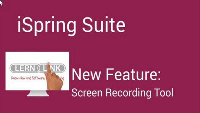 2. Produktvideo iSpring-Suite - Erstellung von Umfragen, Test und Online-Training