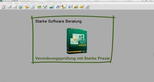 1. Produktvideo Starke Software - Verwaltungssoftware für Therapiepraxis