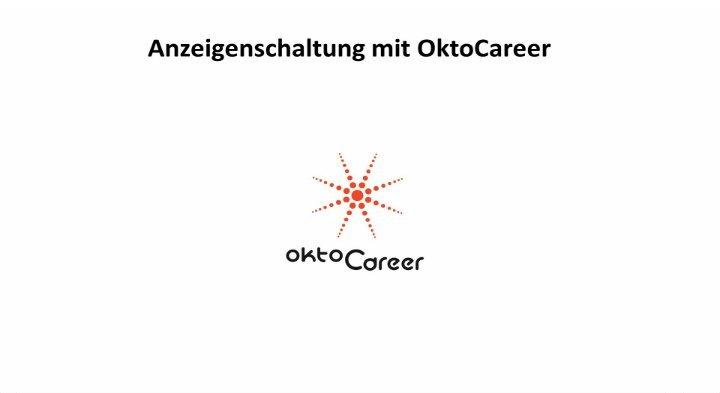 1. Produktvideo OktoCareer - Lösung für die Personalberatung / Personalvermittlung