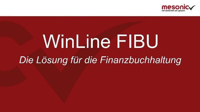 WinLine für das Rechnungswesen