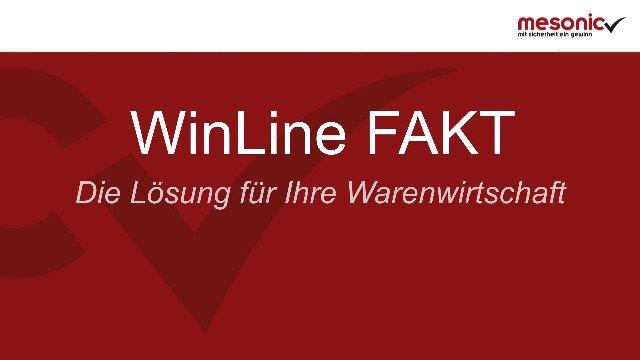 WinLine für Warenwirtschaft & Fakturierung