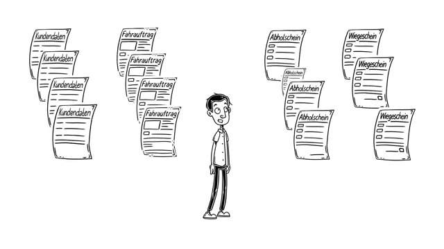 Papierlose Auftragsabwicklung in der Abfallwirtschaft: So geht es