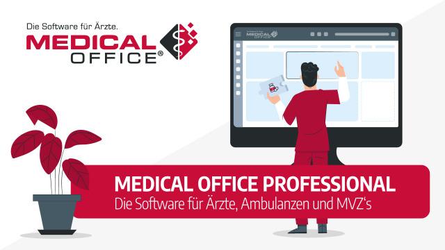 Software für Arzt, Therapeut, Krankenhausambulanz, Gemeinschaftspraxis und MVZ