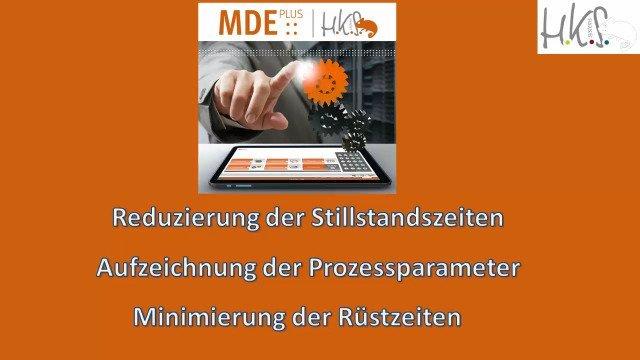 HKS Softwarepaket MDE::Plus Prozessvisualisierung