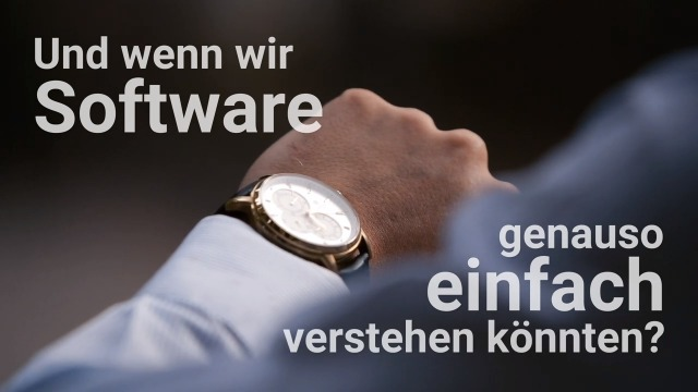 Die Software, die sich so einfach liest wie ein Ziffernblatt