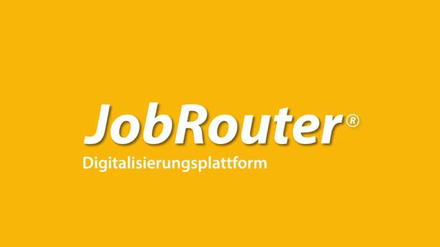 Digitalisierung ohne Ende mit JobRouter®
