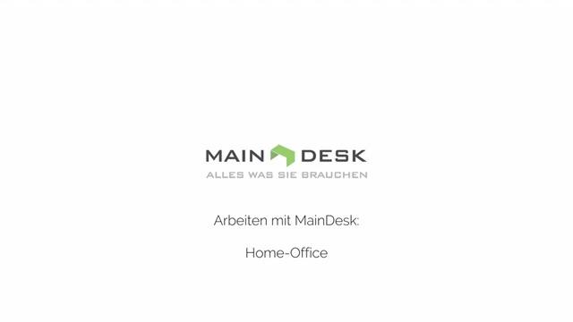 MAINDESK - die Cloud-Software für Ihr Home Office