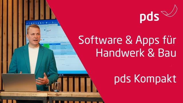 pds Handwerkersoftware & Apps kompakt | Einblick pds Software für Handwerk & Bau [2021]