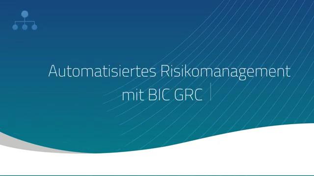 Produktvideo BIC GRC
