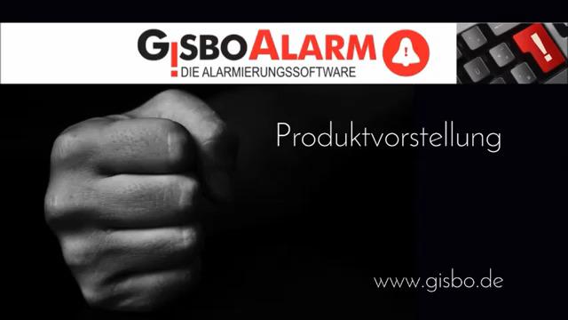 Alarmierungssoftware / Alarmierungssystem  - GisboAlarm