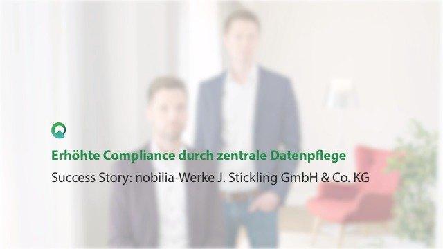 Quentic erhöht Compliance durch zentrale Datenpflege bei nobilia