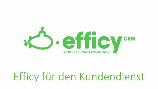 Efficy für Dienstleistungen
