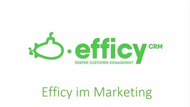 Efficy im Marketing