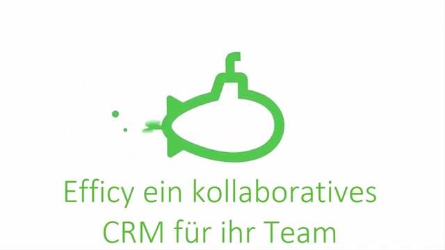 Efficy ein kollaboratives CRM für ihr Team