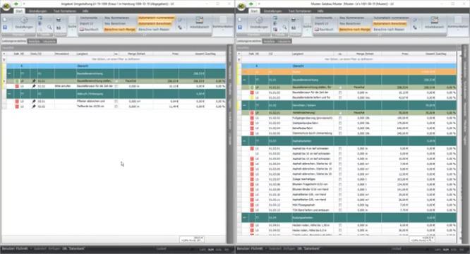 mexXsoft X1.1 - Film 5: Arbeiten im Leistungsverzeichnis
