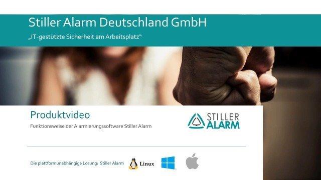 Stiller Alarm Alarmierungssoftware - Produktvideo
