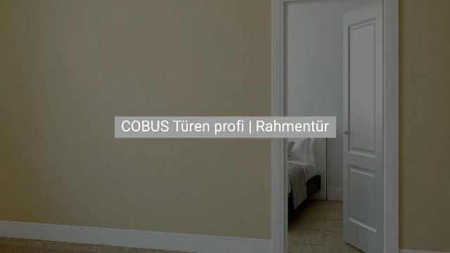 COBUS Türen profi | Die CAD/CAM Lösung für Rahmentüren