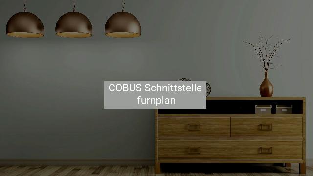 COBUS NCAD | CAD/CAM Schnittstelle Furnplan