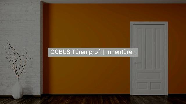 COBUS Türen profi | Die CAD/CAM Lösung für Innentüren