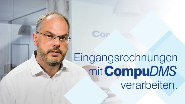 Eingangsrechnungen mit CompuDMS verarbeiten