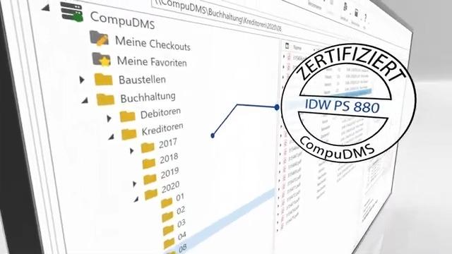 Schnell & transparent: Die Rechnungseingangsverarbeitung mit CompuDMS.
