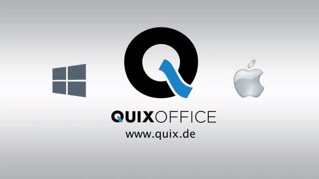 Übersicht der Grundfunktionen von QUIXOFFICE