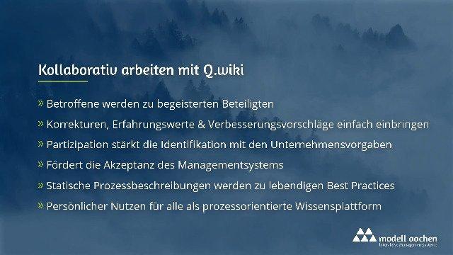 Kollaborativ arbeiten mit Q.wiki