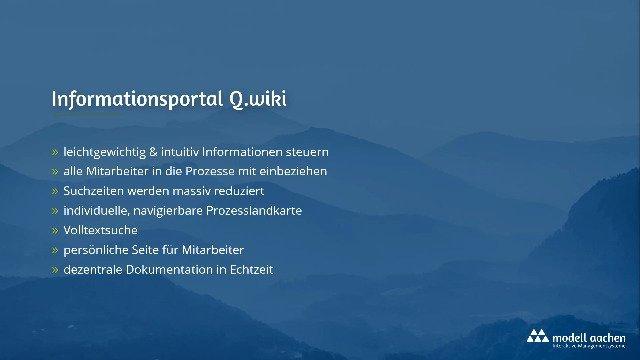 Q.wiki – Informationsportal