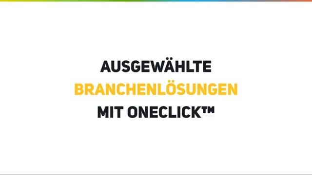 Ausgewählte Branchenlösungen mit oneclick™