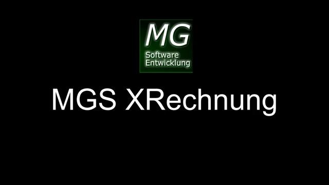 MGS XRechnung