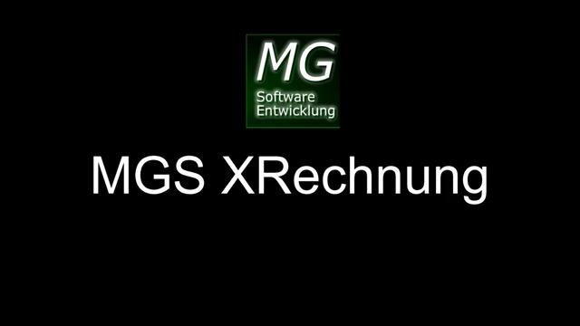 MGS XRechnung Volume 2