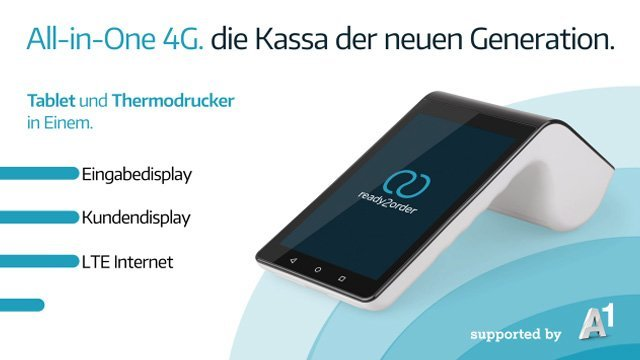 All-in-One 4G | Mobile Registrierkasse: Intuitiv & preiswert