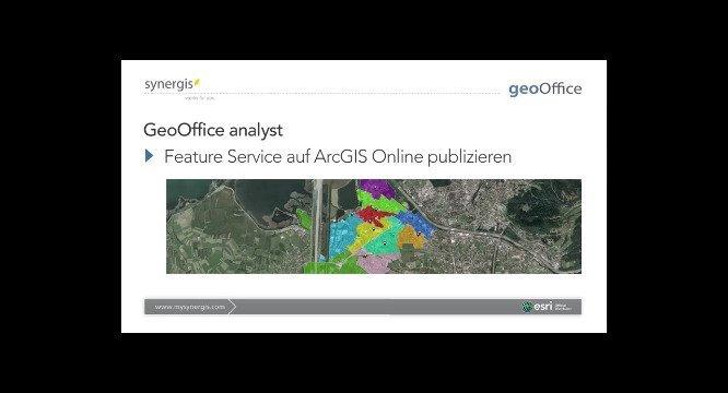 GeoOffice - Daten in ArcGIS Online veröffentlichen