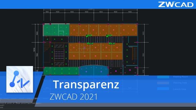 Transparenz | ZWCAD 2021 Offiziell