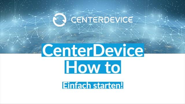 Dateiupload in CenterDevice (Windows)