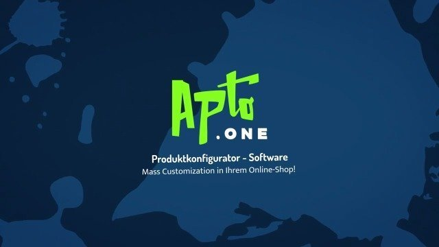 Apto.ONE Überblick | Produktkonfigurator Software