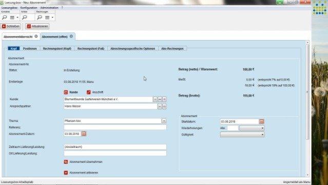 Wiederkehrende Rechnungen automatisiert und GoBD konform erstellen