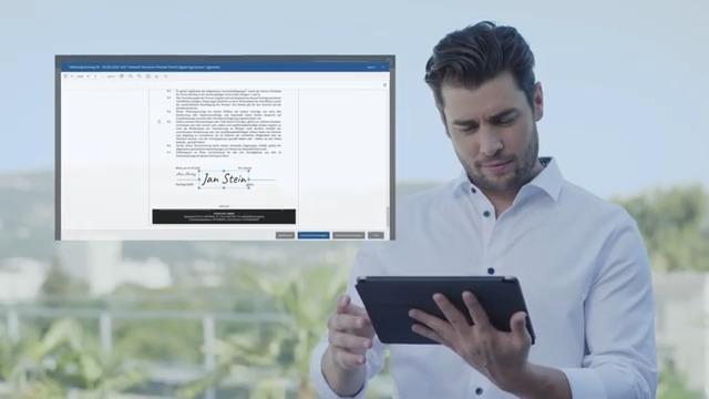 Fabasoft Contracts: Unterschreiben Sie Ihre Verträge digital.